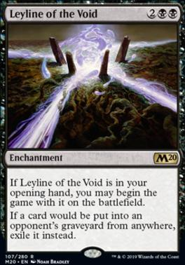 Core Set 2020: Leyline of the Void