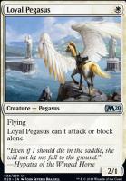Core Set 2020 Foil: Loyal Pegasus