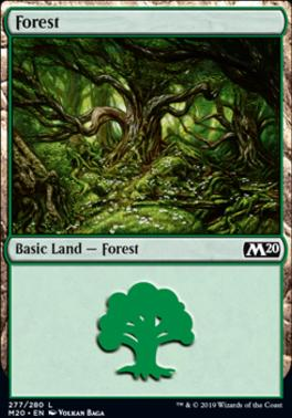Core Set 2020 Foil: Forest (277 A)