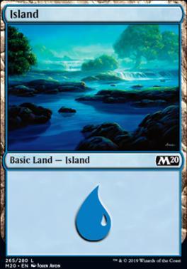 Core Set 2020: Island (265 A)