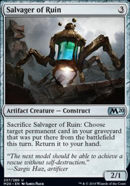 Core Set 2020: Salvager of Ruin