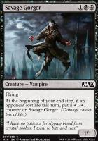 Core Set 2020: Savage Gorger (Planeswalker Deck)