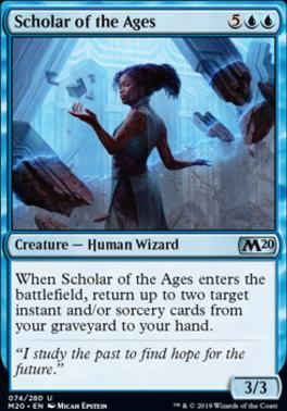 Core Set 2020 Foil: Scholar of the Ages