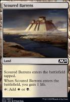 Core Set 2020 Foil: Scoured Barrens