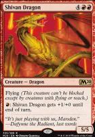 Core Set 2020: Shivan Dragon (Planeswalker Deck)