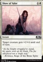 Core Set 2020: Show of Valor (Welcome Deck)