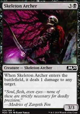 Core Set 2020: Skeleton Archer (Welcome Deck)