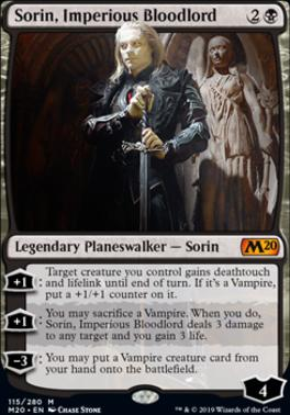 Core Set 2020: Sorin, Imperious Bloodlord