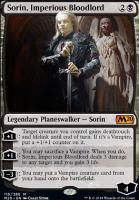 Core Set 2020 Foil: Sorin, Imperious Bloodlord