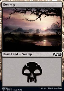 Core Set 2020: Swamp (271 C)