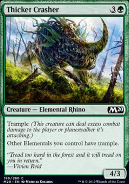 Core Set 2020: Thicket Crasher