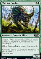 Core Set 2020 Foil: Thicket Crasher