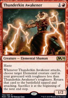 Core Set 2020: Thunderkin Awakener