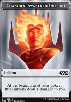 Core Set 2020: Emblem (Chandra, Awakened Inferno)