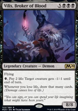 Core Set 2020 Foil: Vilis, Broker of Blood