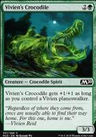 Core Set 2020: Vivien's Crocodile (Planeswalker Deck)