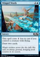 Core Set 2020 Foil: Winged Words