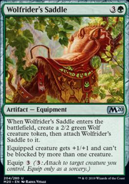 Core Set 2020: Wolfrider's Saddle