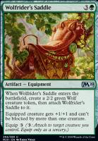 Core Set 2020 Foil: Wolfrider's Saddle