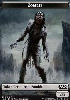 Core Set 2020: Zombie Token