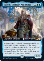 Core Set 2021 Variants: Barrin, Tolarian Archmage (Extended Art)