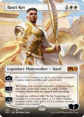 Core Set 2021 Variants: Basri Ket (Borderless)