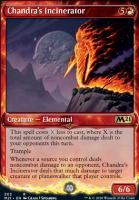 Core Set 2021 Variants: Chandra's Incinerator (Showcase)