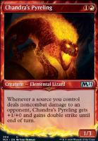 Core Set 2021 Variants: Chandra's Pyreling (Showcase)