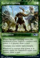 Core Set 2021 Variants: Garruk's Uprising (Showcase)