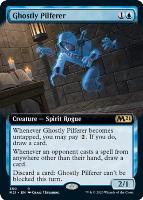 Core Set 2021 Variants Foil: Ghostly Pilferer (Extended Art)