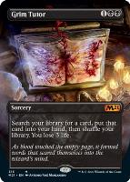 Core Set 2021 Variants Foil: Grim Tutor (Borderless)