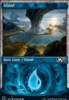 Core Set 2021 Variants: Island (Showcase)