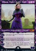 Core Set 2021 Variants: Liliana, Waker of the Dead (Showcase)