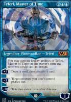 Core Set 2021 Variants: Teferi, Master of Time (Showcase - 293)