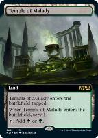 Core Set 2021 Variants: Temple of Malady (Extended Art)