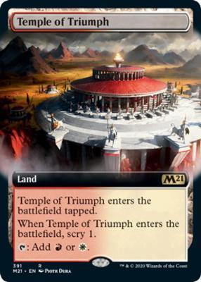 Core Set 2021 Variants: Temple of Triumph (Extended Art)