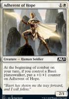 Core Set 2021: Adherent of Hope (Planeswalker Deck)