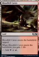 Core Set 2021 Foil: Bloodfell Caves