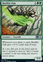 Core Set 2021 Foil: Burlfist Oak