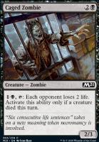 Core Set 2021: Caged Zombie