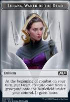 Core Set 2021: Emblem (Liliana, Waker of the Dead)