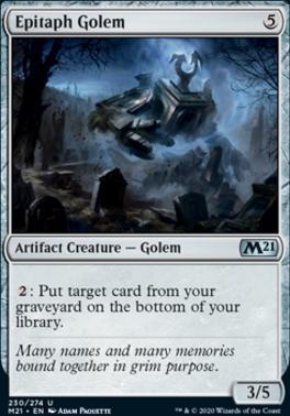 Core Set 2021: Epitaph Golem