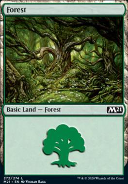 Core Set 2021: Forest (272)