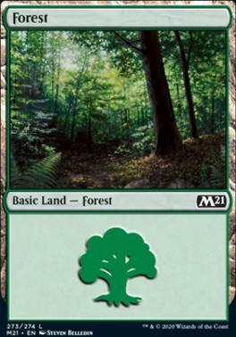 Core Set 2021: Forest (273)