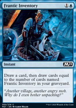Core Set 2021: Frantic Inventory