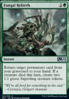 Core Set 2021 Foil: Fungal Rebirth