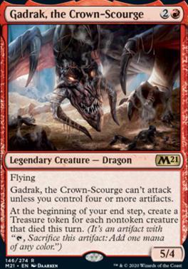 Core Set 2021: Gadrak, the Crown-Scourge