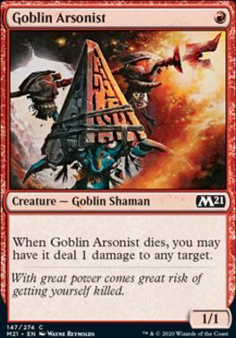 Goblin Arsonist Core Set 2021 Mtg x4 4x M21 Magic 147