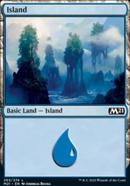 Core Set 2021: Island (265)