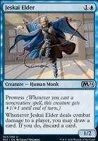 Core Set 2021 Foil: Jeskai Elder